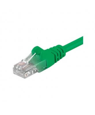 UTP-kabel - 0.25 meter CAT6 straight Groen