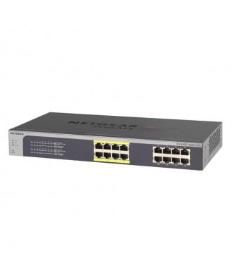 Netgear 16-poorts (8x PoE) Gigabit Rackmountable Switch