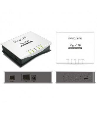 DrayTek 120 modem-router Analoog