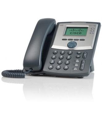 Cisco SPA-303G 3-lijns IP Phone incl. voeding