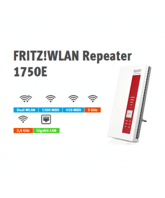 FRITZ!WLAN 1750E WiFi repeater