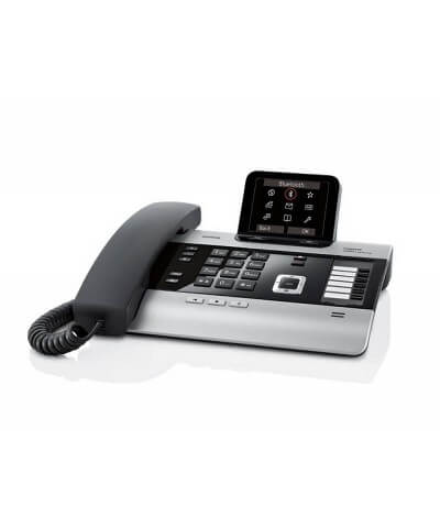 Gigaset DX800A all-in-one DECT vast/VoIP telefooncentrale
