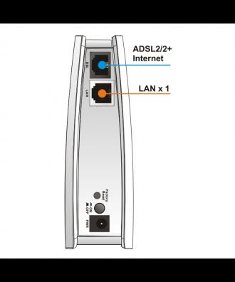 Vigor 122 ADSL2/2+ modem/router
