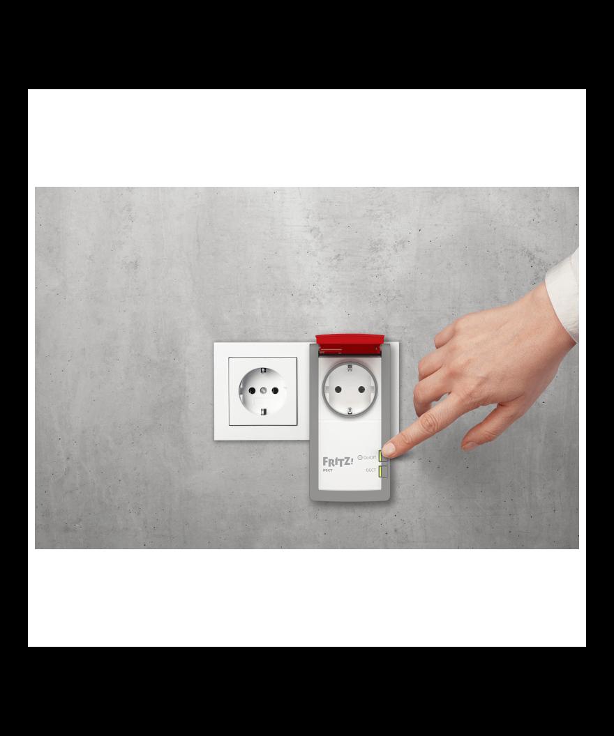 fritz dect 210 intelligent stopcontact outdoorversie. Black Bedroom Furniture Sets. Home Design Ideas