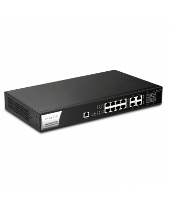 DrayTek 8-poorts (8 x PoE) Gigabit Layer 2 Rackmountable Switch