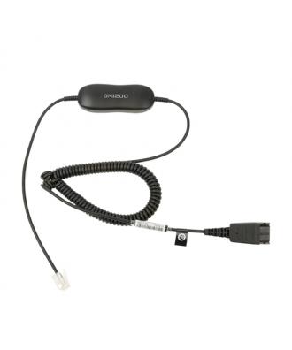 Jabra GN1200 CC QuickDisconnect verloopkabel lang met krul