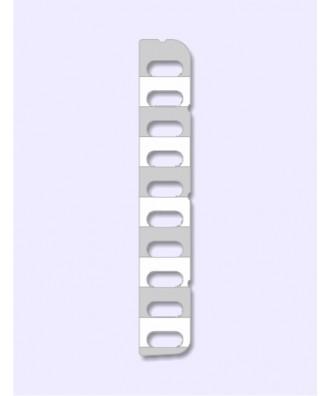 Papieren labels tbv T18, T26, T28 en EXP38