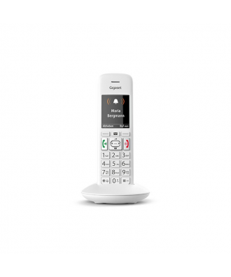 Gigaset E370HX handset - WIT