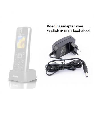 Yealink W52H-W53H Voedingsadapter voor Laadschaal