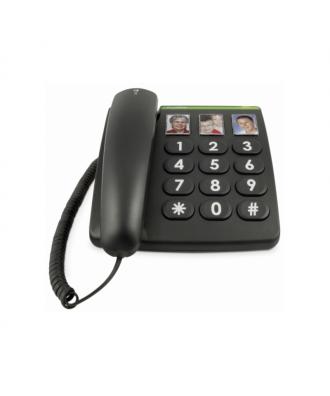 Doro PhoneEasy 331ph vaste telefoon zwart