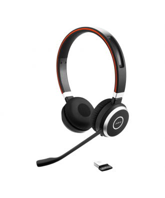 Jabra Evolve 65 UC STEREO Bluetooth draadloze headset (incl. stand)