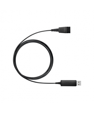 Jabra Link 230 QuickDisconnect naar USB verloopkabel kort