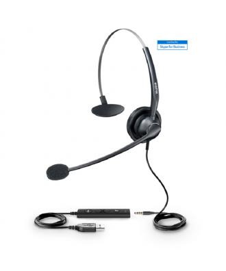 Yealink UH33 MONO USB-A bedrade headset