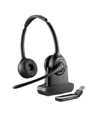 Plantronics Savi W420 STEREO UC DECT draadloze headset