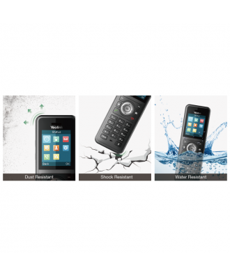 Yealink W59R Ruggedized HD IP DECT handset