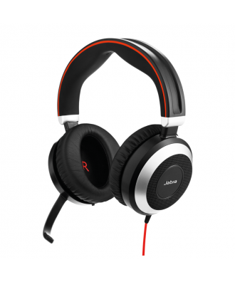 Jabra Evolve 80 UC STEREO USB-A bedrade headset