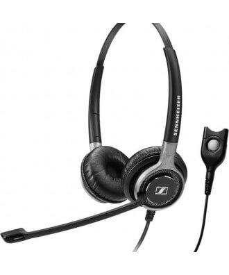 Sennheiser SC660 STEREO QuickDisconnect bedrade headset