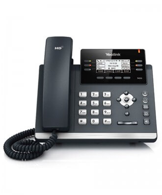 Yealink SIP-T42G 3-lijns IP Phone excl. voedingsadapter