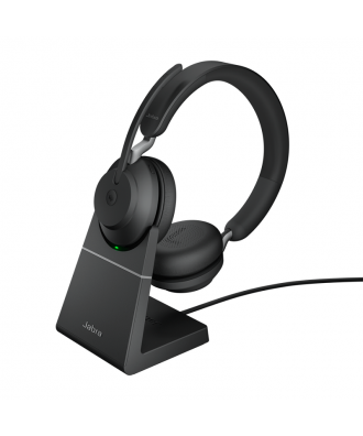 Jabra Evolve2 65 MS STEREO Bluetooth draadloze headset (incl. stand)