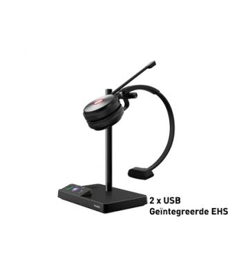 Yealink WH62 MONO DECT draadloze headset (UC)