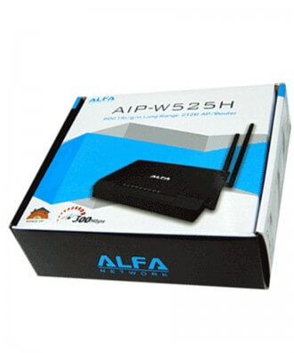 Alfa W525H PowerMax2 WiFi High Power AP/Router