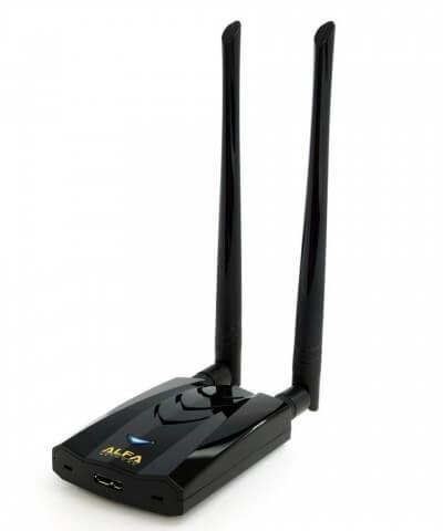 Alfa AWUS036ACH compacte High Power AC1200 WiFi USB