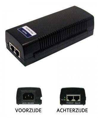 Alfa PSE-1000D 48V Gigabit PoE Adapter incl. stroomkabel