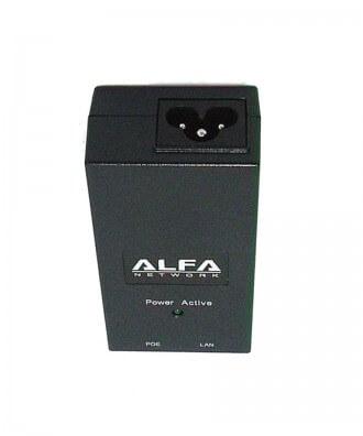 Alfa APOE48V 48V Gigabit PoE adapter incl. stroomkabel