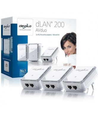 Devolo DLAN 200 AVduo Network Kit
