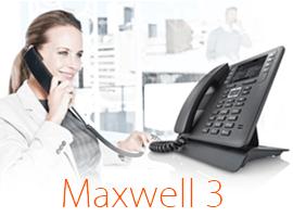 Maxwell 3 - de nieuwe ideale IP-telefoon